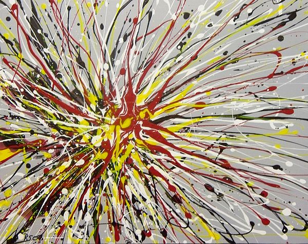 Abstract Painting - Expression 920 by Rod Schneider