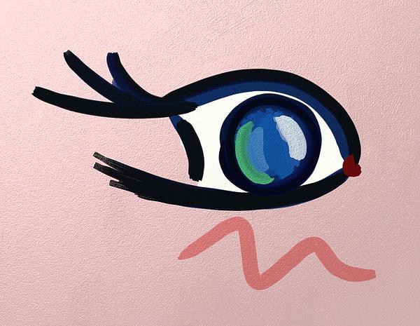 Anime Digital Art - Eye. by John Mckeever