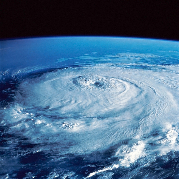 Color Image Photograph - Eye Of The Hurricane by Stocktrek Images