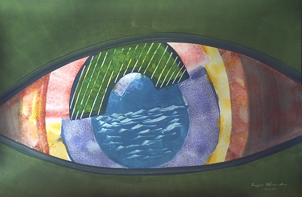 Surreal Painting - Eyes by Sergio Alexandre
