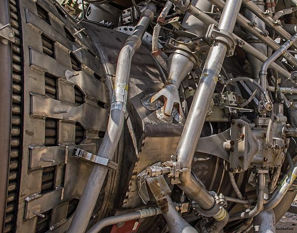 Rocket Engine Photograph - F-1 Rocket Engine by Allen Sheffield