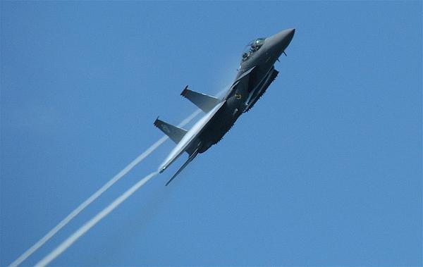 Usaf Photograph - F-15 Strike Eagle by Samuel Sheats