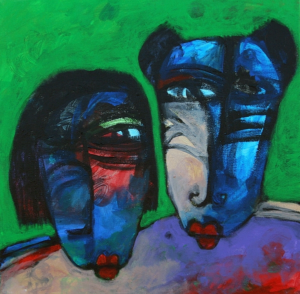 Faces From Memory 86 Painting by Islam Kamil