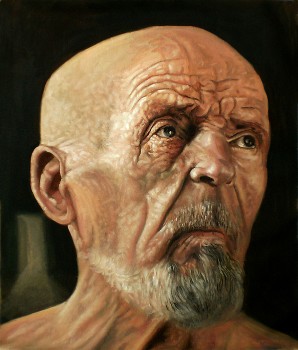 Portrait Painting - Facing Forward by Kamalky Laureano
