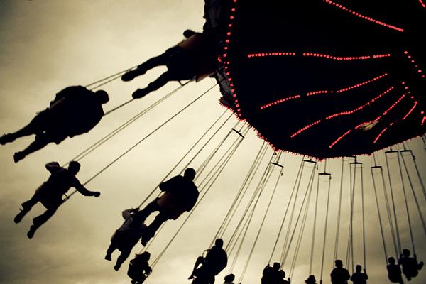 Fair Photograph - Fair Flying by Kerry Langel