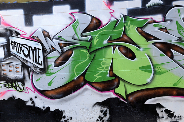 Graffiti Photograph - Fairstyle by Bob Christopher