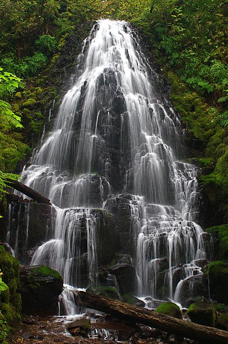 Fairy Falls Photograph - Fairy Falls by Todd Kreuter