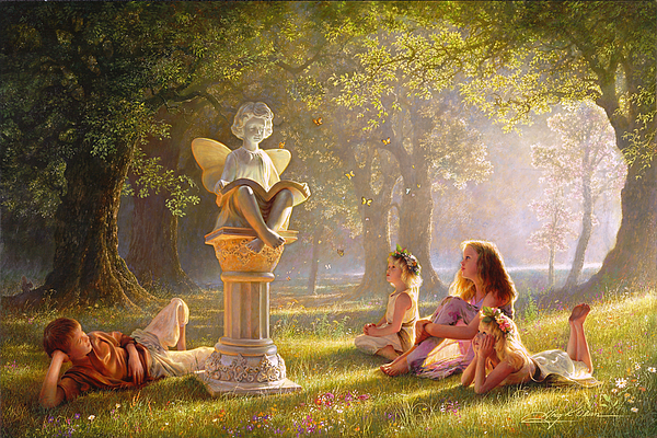 Imagination Painting - Fairy Tales  by Greg Olsen