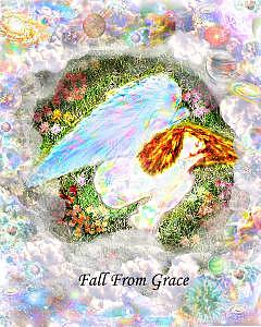 Angel Digital Art - Fall From Grace by Paul Kaleja