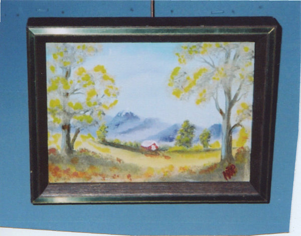 Fall On The Farm Painting by Peter Hatman