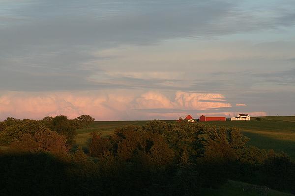 Iowa Farm Photograph - Farm by Linda Ostby