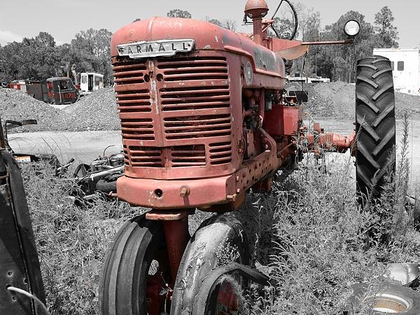 Farmall Photograph - Farmall Red by Lynda Dawson-Youngclaus