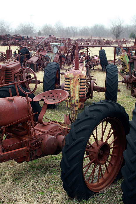 Tractors Photograph - Farmers Racer by Joy Tudor