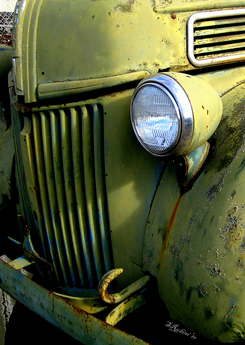 Old Cars Photograph - Fasten Your Seat Belts by Sandy Rubini