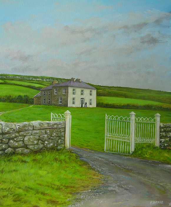 Father Ted Painting - Father Ted by Eamon Doyle