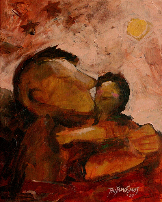 Son Painting - Fathered by Jun Jamosmos