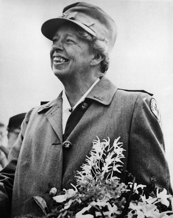 1940s Photograph - Fdr Presidency. Eleanor Roosevelt by Everett