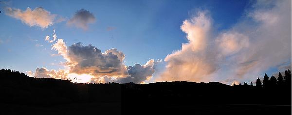 Felton Painting - Felton Sunset by Larry Darnell
