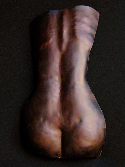 Female Torso 2 Sculpture by Todd Malenke