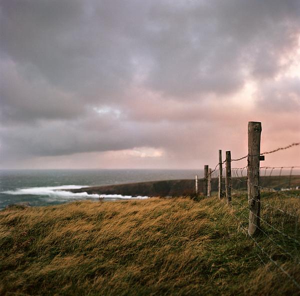 Horizontal Photograph - Fence In Ireland by Danielle D. Hughson