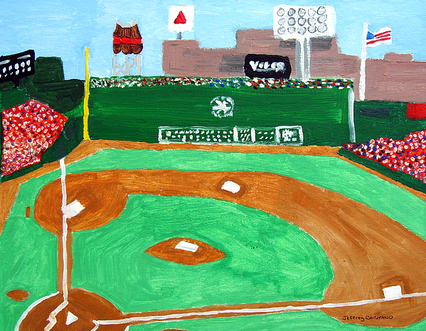 Fenway Park Painting - Fenway Park by Jeff Caturano