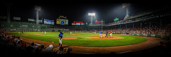 Fenway Park Photograph - Fenway Park Panorma by Jeff Ortakales