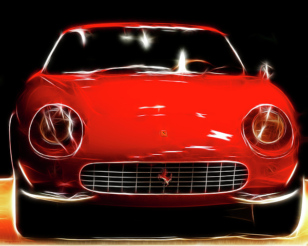 Ferrari Photograph - Ferrari by Wingsdomain Art and Photography