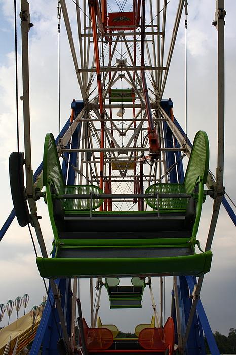 Fair Photograph - Ferris Wheel by Anne Babineau