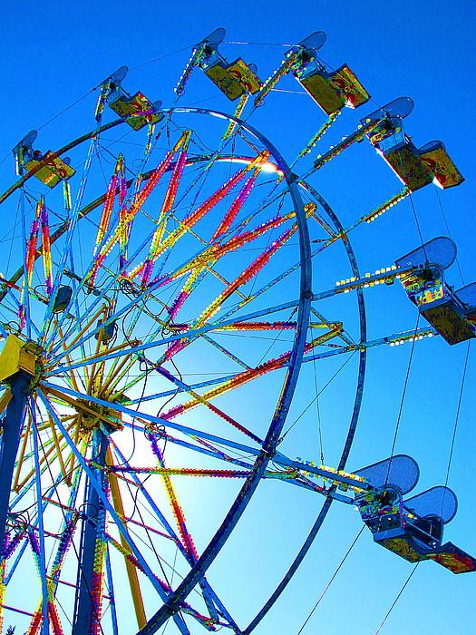 Ferris Wheels Photograph - Ferris Wheel I by John King