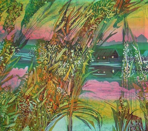 Impressionism Painting - field Grasses  by Chagorova Tanja