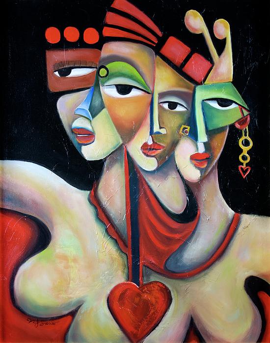 Fiesta Painting by Niki Sands