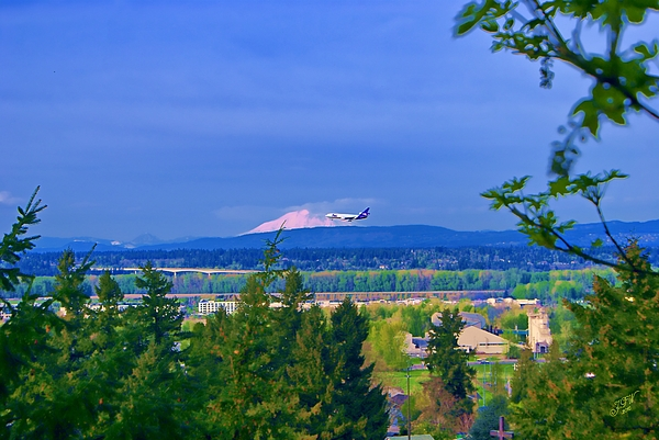 Fedex Photograph - Final Approach by John Winner