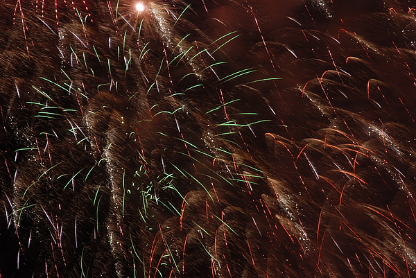 Fireworks Photograph - Finale by Clay Peters Photography