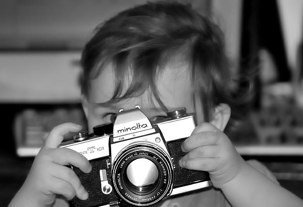 Camera Photograph - Finder by Michael Redmond
