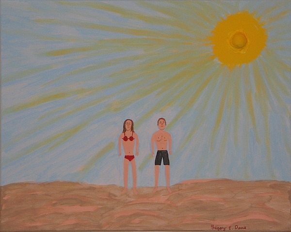 Sun Painting - Fine Sunny Day by Gregory Davis
