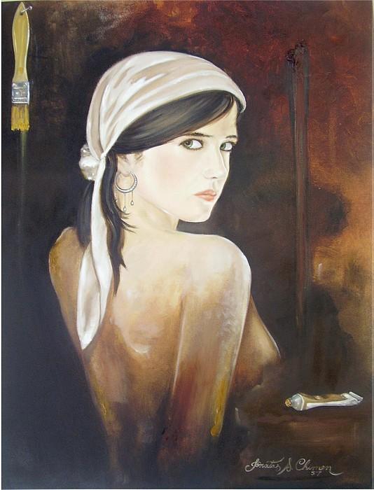 Finish Me Please Painting by Jonatas Chimen