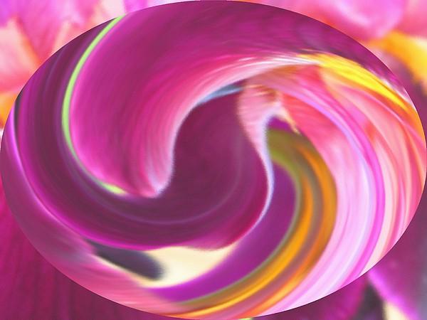 Purple Digital Art - Fire In My Soul by Ian  MacDonald