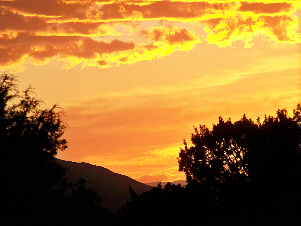 Landscape Photograph - Fire In The Sky 1 by Brian  Commerford