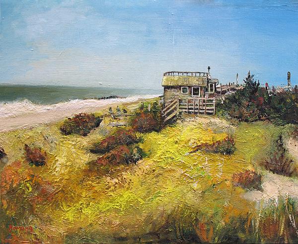 Fire Island New York 1  Painting by Yuki Komura