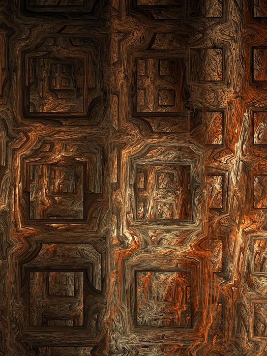 Fractal Digital Art - Fire Of London by Ian Duncan Anderson