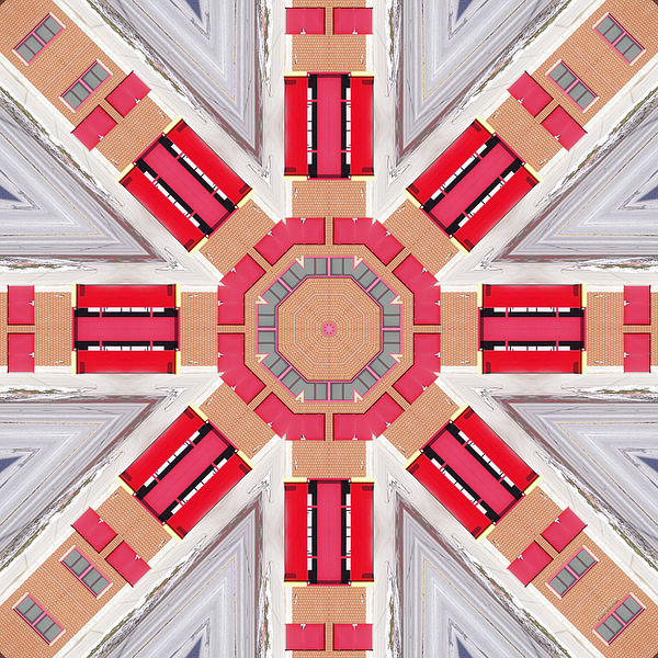 Fire Digital Art - Firehall 2315k8 by Brian Gryphon