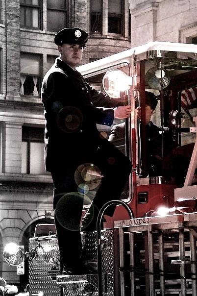 Fireman Photograph - Fireman by Brynn Ditsche