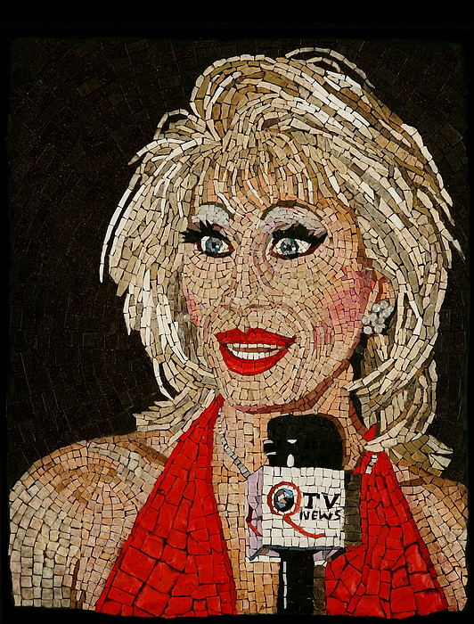 Donna Sachet Mixed Media - First Lady Donna Sachet by Michael Kruzich