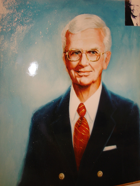 Portrait Painting - First Selectman Touhy by Catherine Amendola
