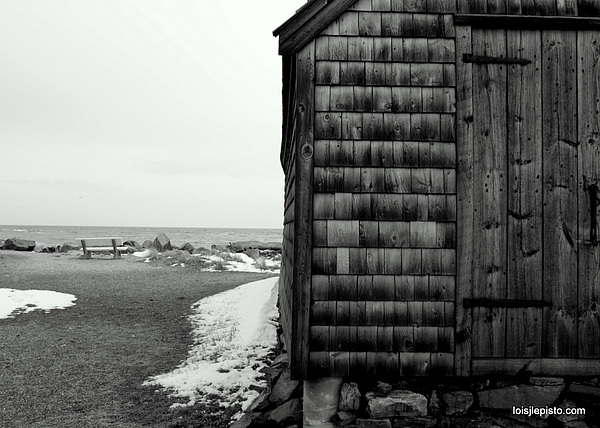 Ocean Photograph - Fish House At The Sea by Lois Lepisto
