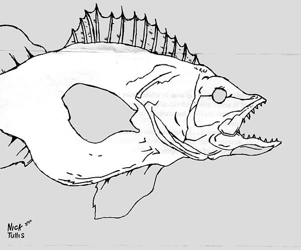 Fish Digital Art - Fish by Nicholas Tullis