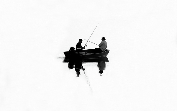 Artwork Photograph - Fishing Buddies by David Lee Thompson