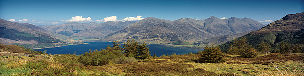 Mountains Photograph - Five Sisters Of Kintail by Donald Buchanan