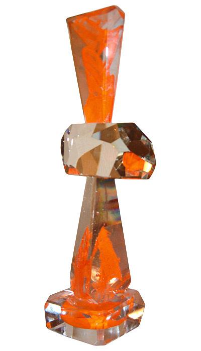 Flame Glass Art - Flame by Dan Bancila