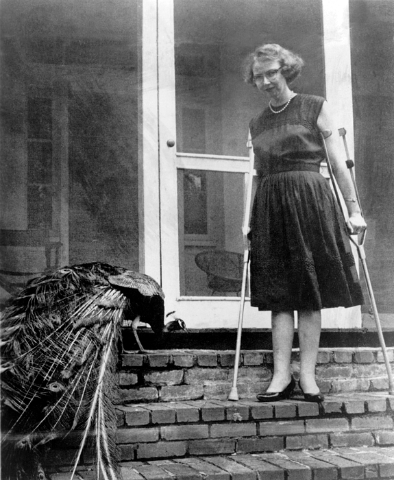 History Photograph - Flannery Oconnor 1925-1964, American by Everett